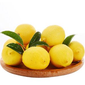 汇达柠檬 精品黄柠檬中果10斤