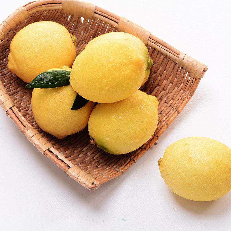 汇达柠檬 精品黄柠檬大果3斤