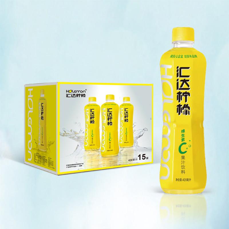柠檬水一箱15瓶420ml